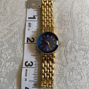 Presicion watch by gruen dianond quartz